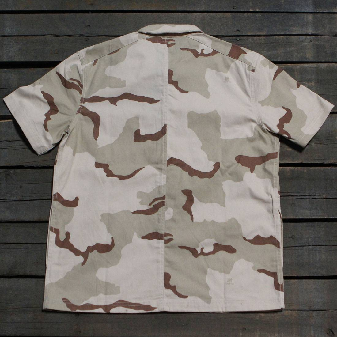 Undefeated Men Camo BDU Shirt camo