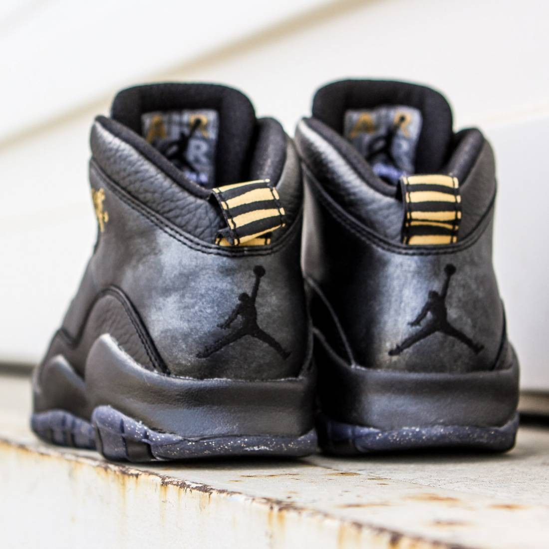 a957bb65d399 ... canada air jordan retro 10 big kids black dark grey metallic gold black  3f79c 071a5