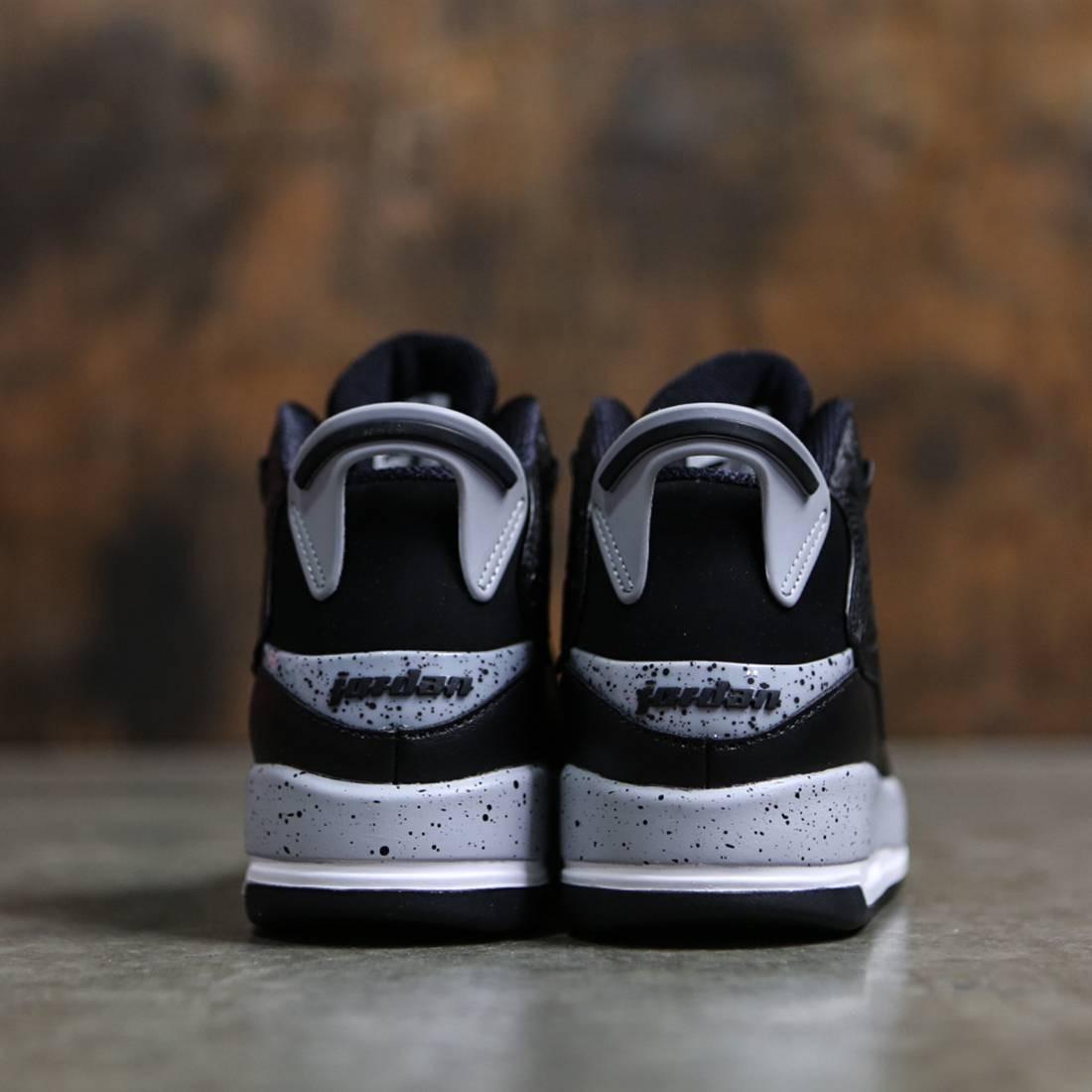 new product 65439 91719 Air Jordan Dub Zero (GS) Big Kids (black   wolf grey-white)