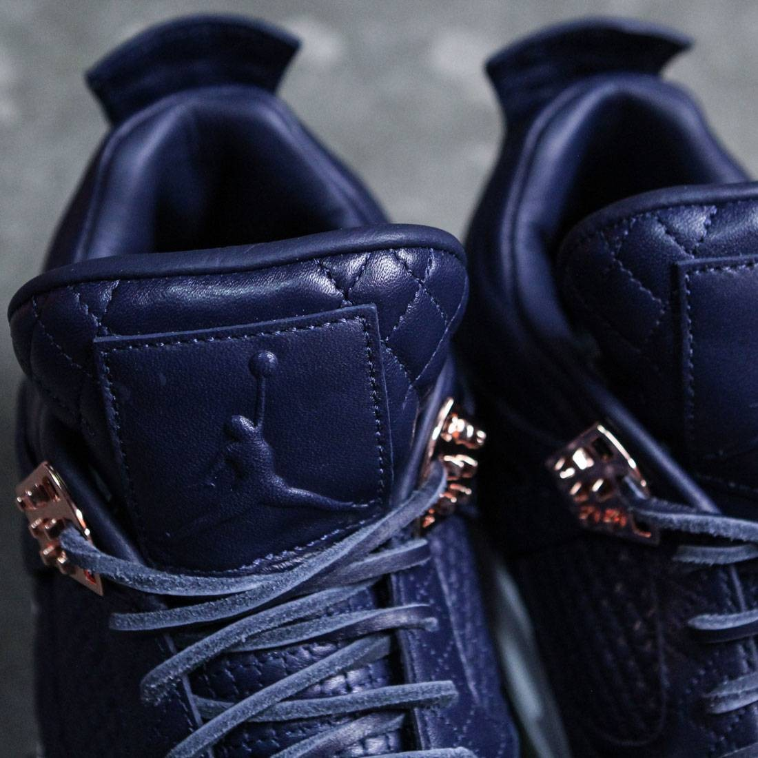 9f8b7e7738c0 AIR JORDAN 4 RETRO Pinnacle PREMIUM Men (navy   obsidian   obsidian-white)
