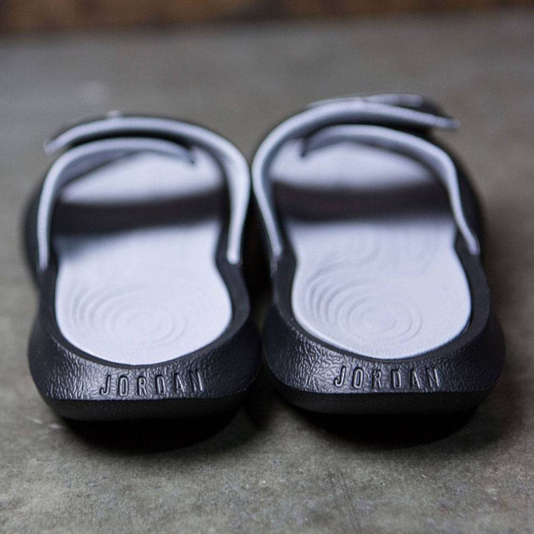87230ff6f770e Jordan Men Jordan Hydro 6 Slide (black   white-wolf grey)