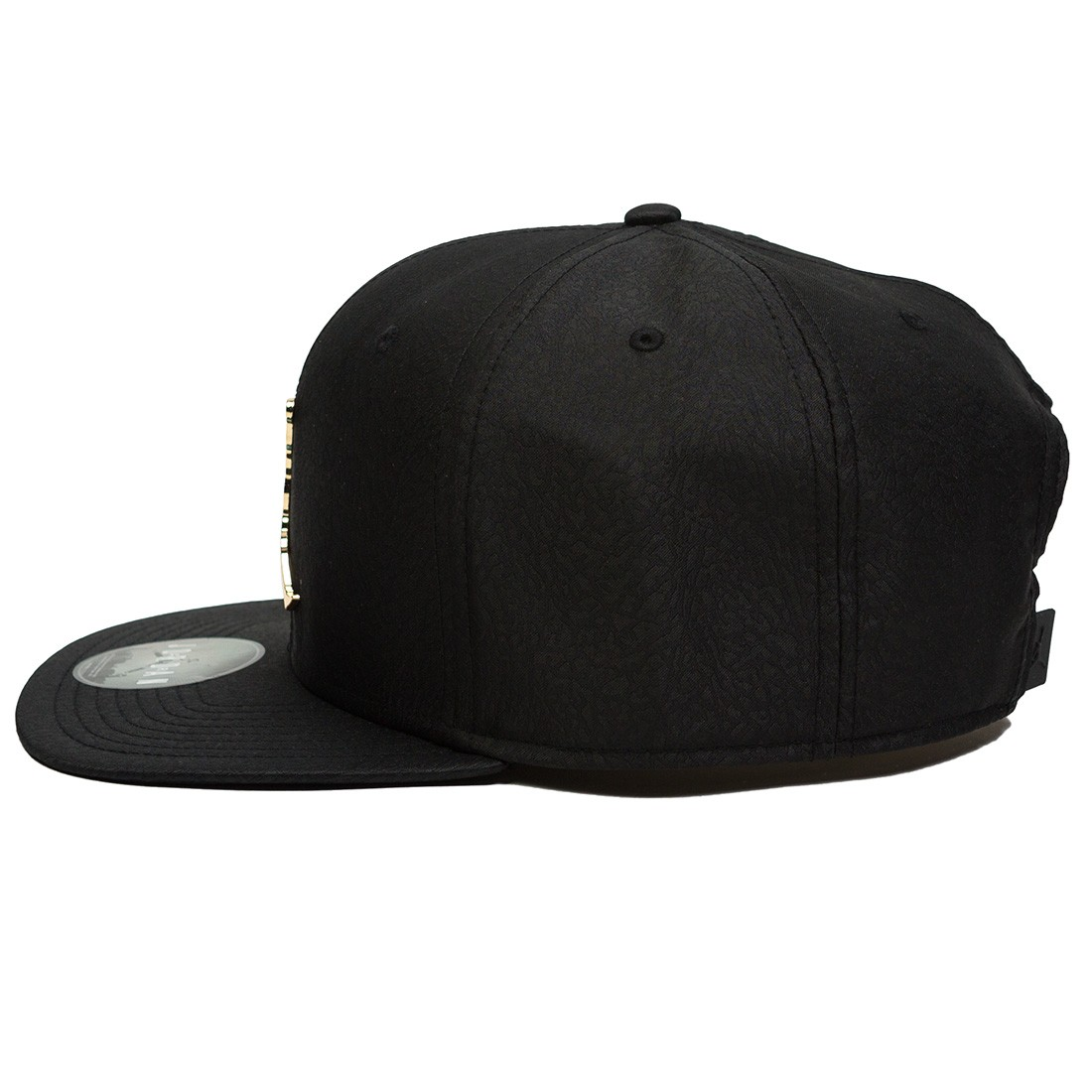 f2888eed856fc jordan men unisex jordan jumpman elephant print ingot pro hat black black  gold