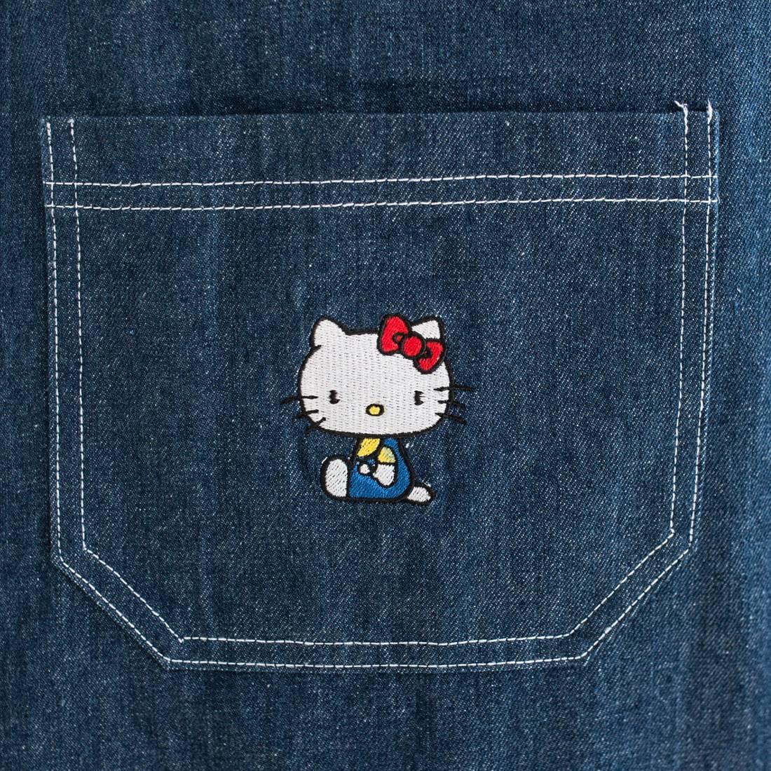 e6291ef3b Lazy Oaf X Hello Kitty Women Pinny Dress Blue (Denim)