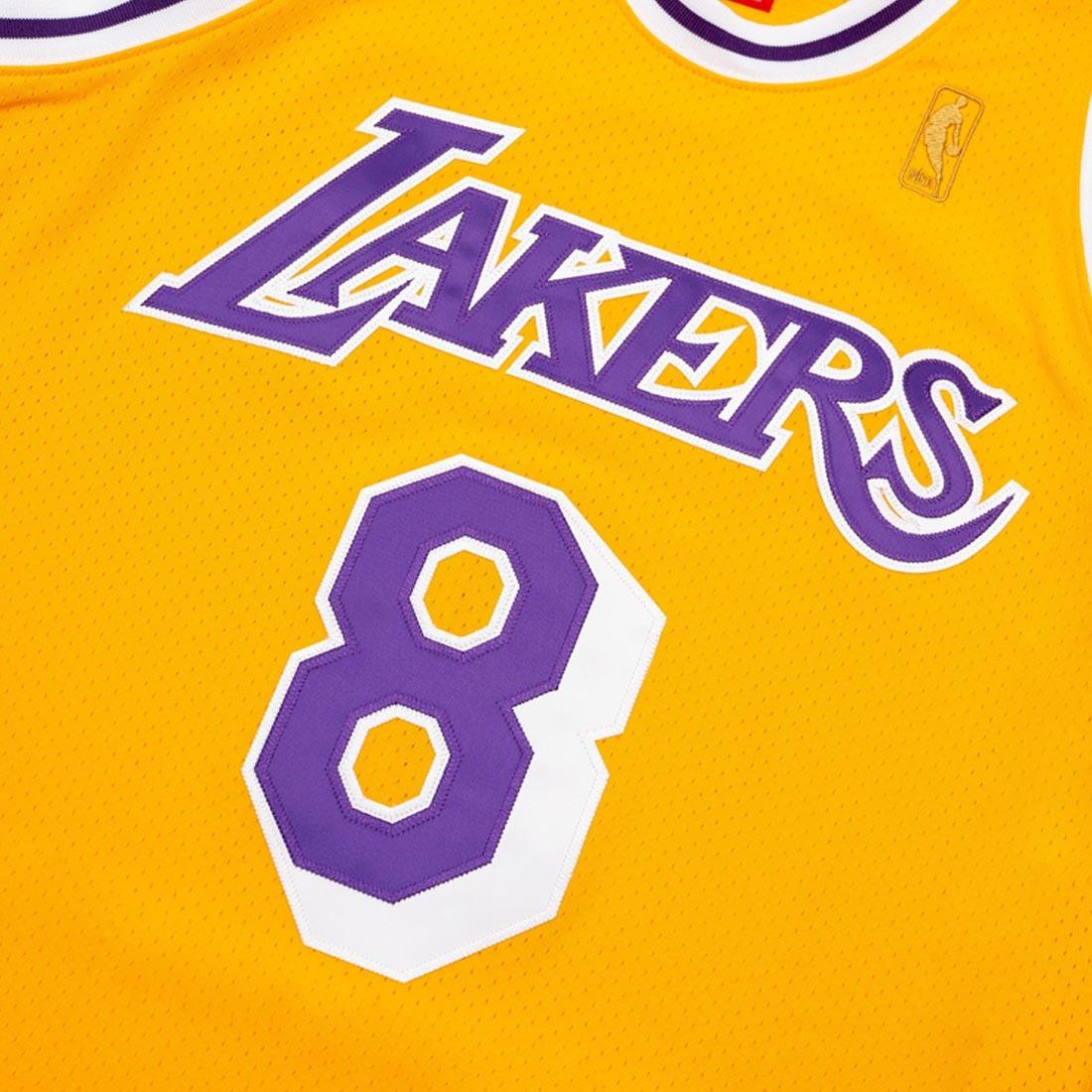 Mitchell And Ness Men NBA Los Angeles Lakers Home 1996-97 Kobe Bryant Authentic Jersey (gold)