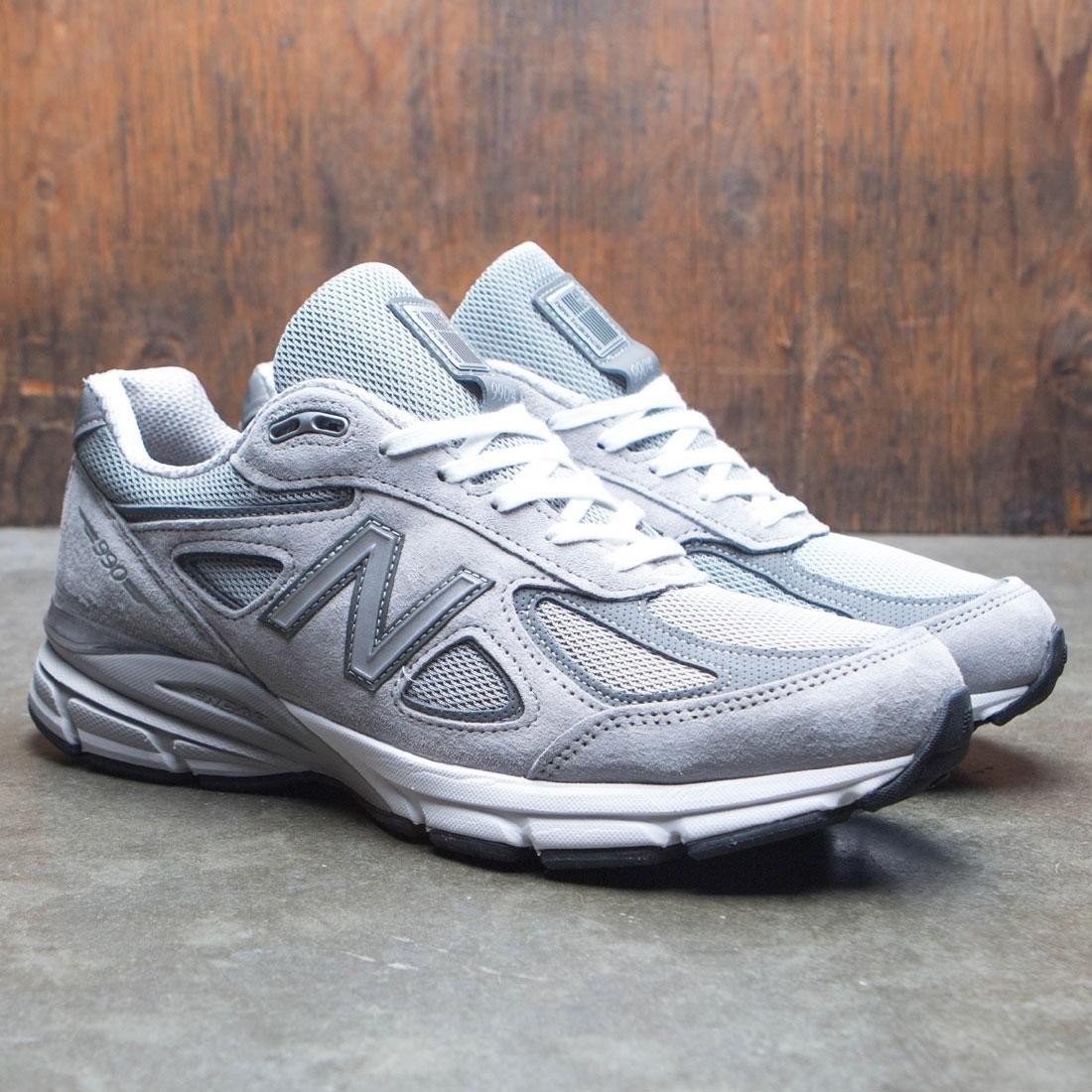 new concept 2d2cf 35b12 New Balance Men 990v4 M990GL4 Width 2E Wide - Made In USA (gray /  castlerock)
