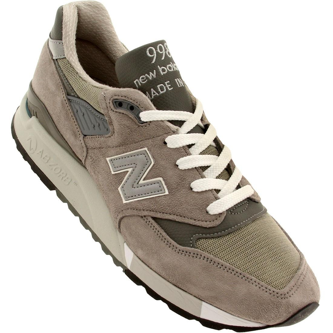 best website d677b 6092c New Balance Men M998 - Made In USA (gray)
