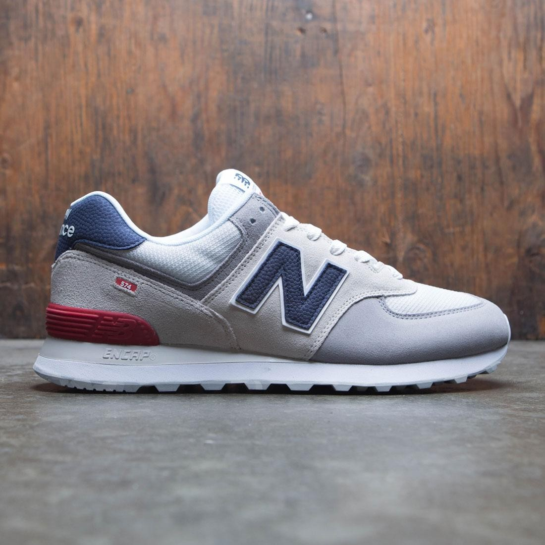 finest selection 33a4f 806b6 New Balance Men 574 Marbled Street ML574UJD (gray / nimbus cloud / team red)