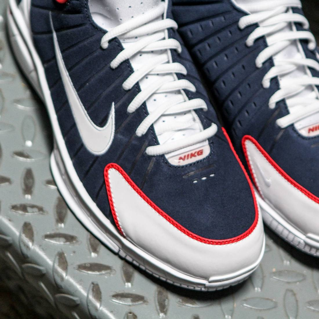 f46d9e2a91ddc1 Nike Men Air Zoom Huarache 2K4 (midnight navy   university red   white    white)