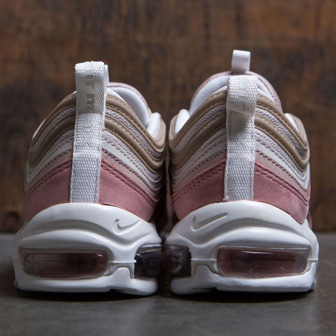 the best attitude 463f3 10a75 Nike Men Air Max 97 Premium QS (particle beige   summit white-rush pink)