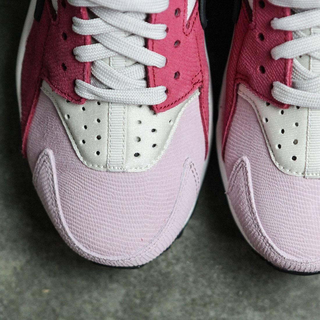 wholesale dealer ceba8 7d9a6 Nike Women Women S Nike Air Huarache Run Premium (light bone   black-noble  red-plum fog)