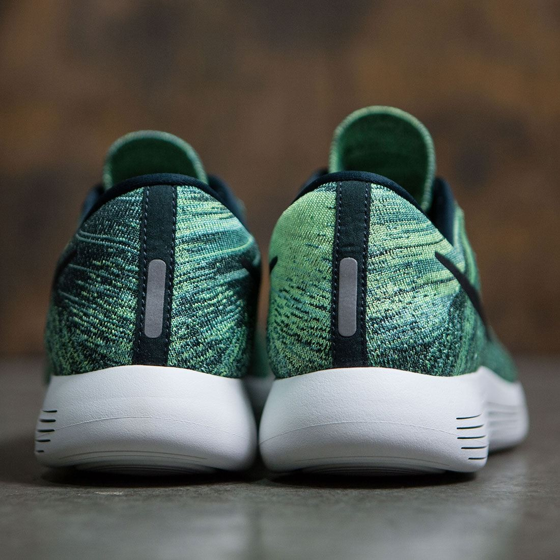 b673b6d53e62 Nike Men Lunarepic Low Flyknit Running (seaweed   black-ghost green-summit  white)