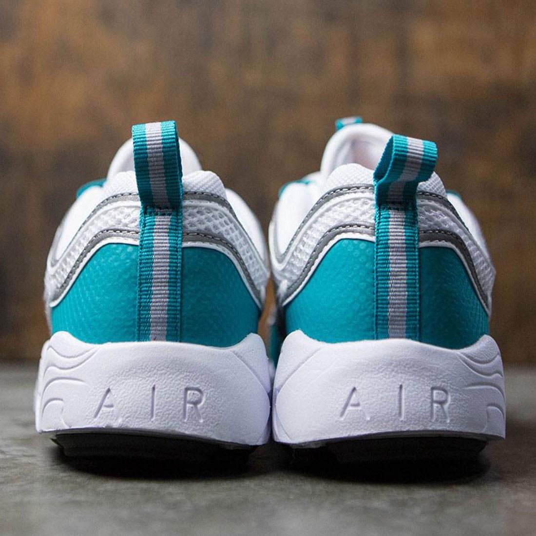 1dcd581b9ca1b Nike Men Air Zoom Spiridon Qs (white   silver-turbo green-laser orange)