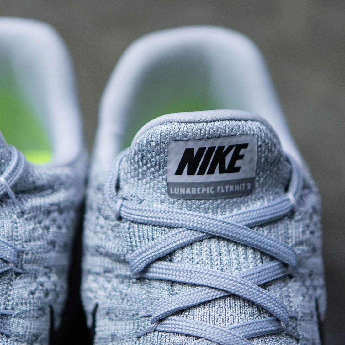 064237bc1e62e Nike Women Lunarepic Low Flyknit 2 Running (wolf grey   black-cool grey-pure  platinum)