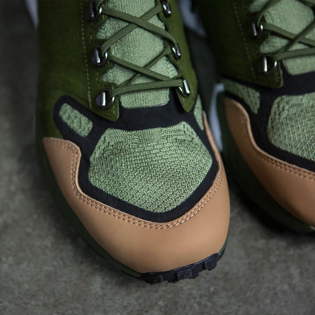 bb8927d04f16 Nike Men Air Zoom Talaria Mid Flyknit Premium (palm green   legion  green-vachetta tan)