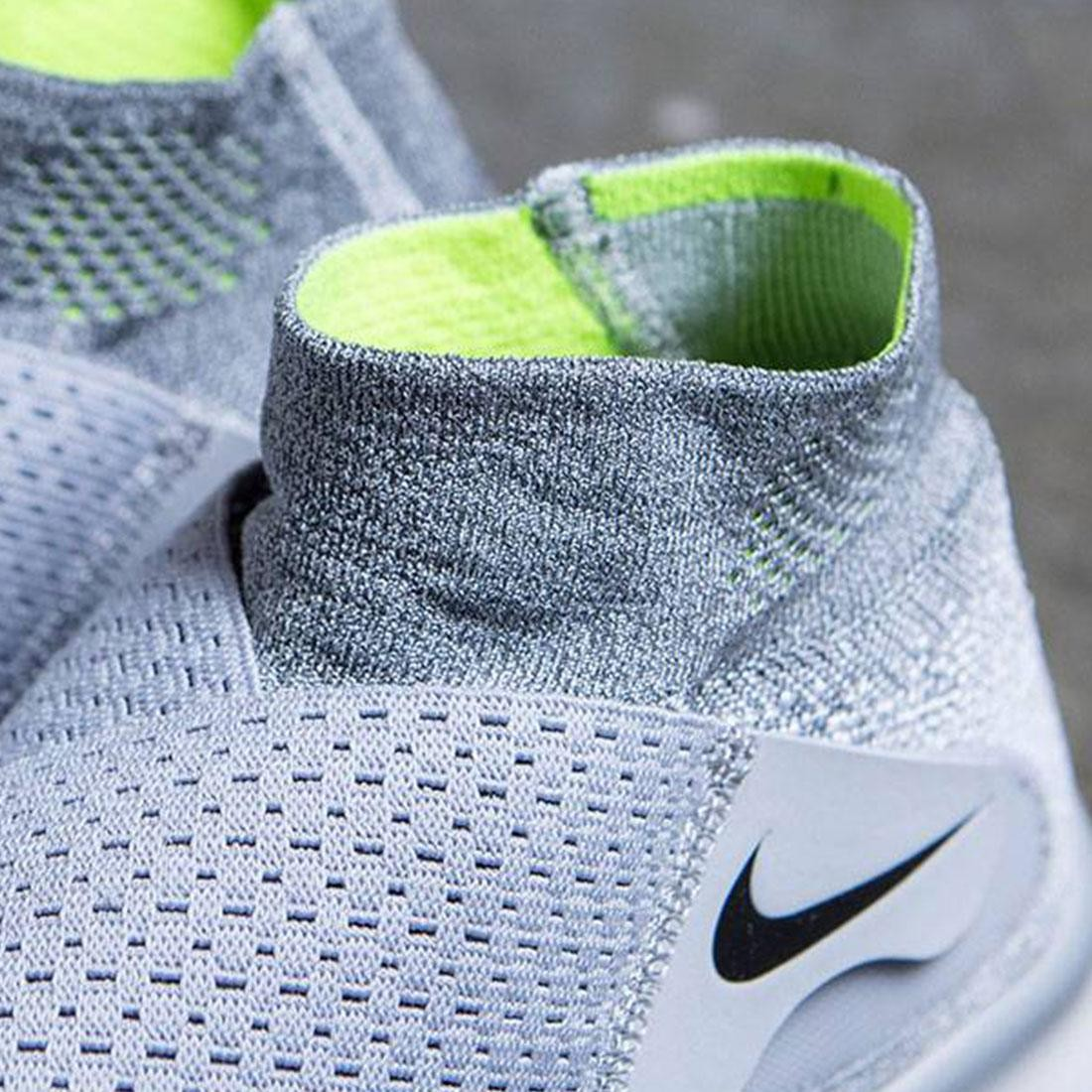 c06298b5230d Nike Men Free Rn Motion Flyknit 2017 Running (wolf grey   black-cool grey- volt)