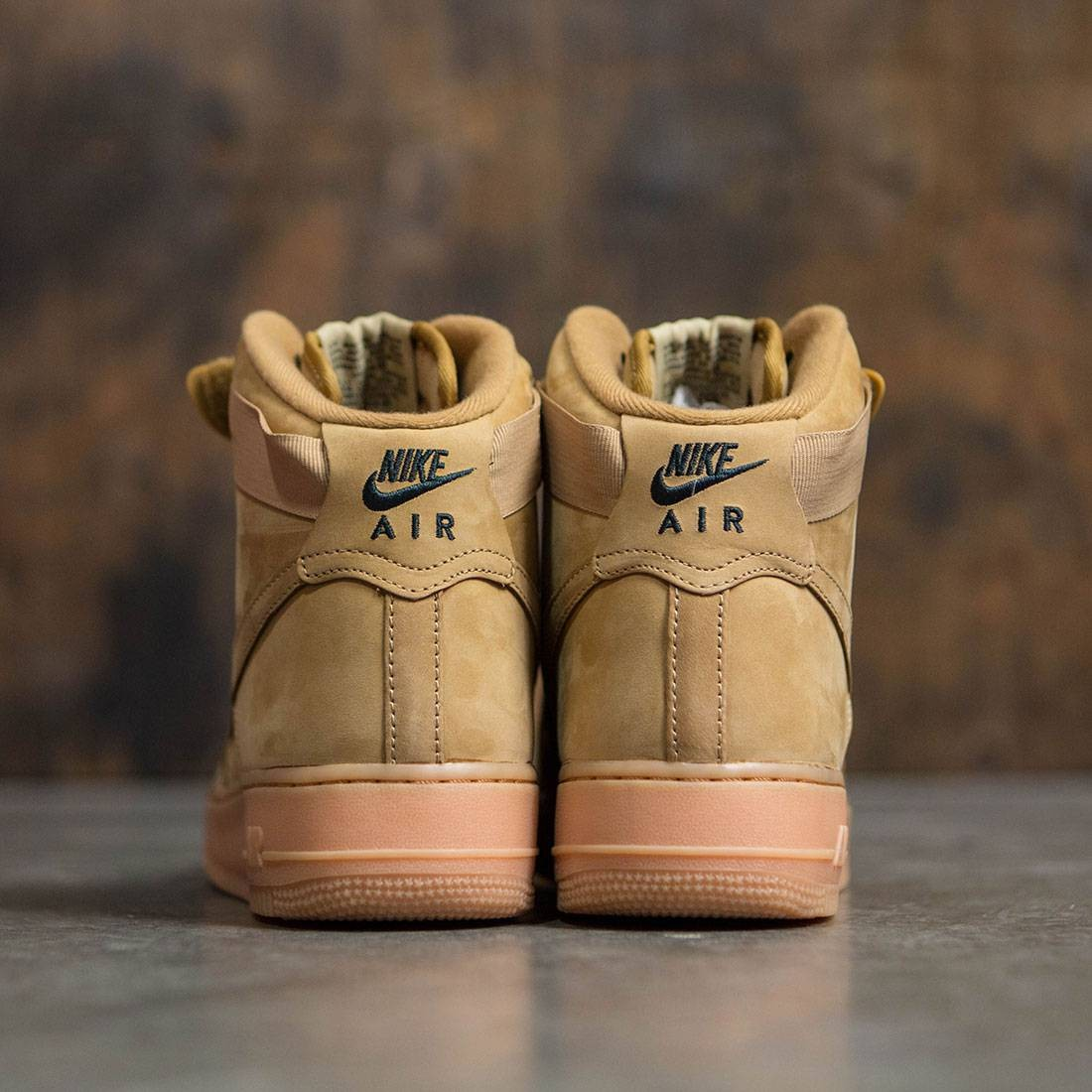newest collection 17de4 6b07f Nike Men Air Force 1 High  07 Lv8 Wb (flax   flax-outdoor green-gum light  brown)