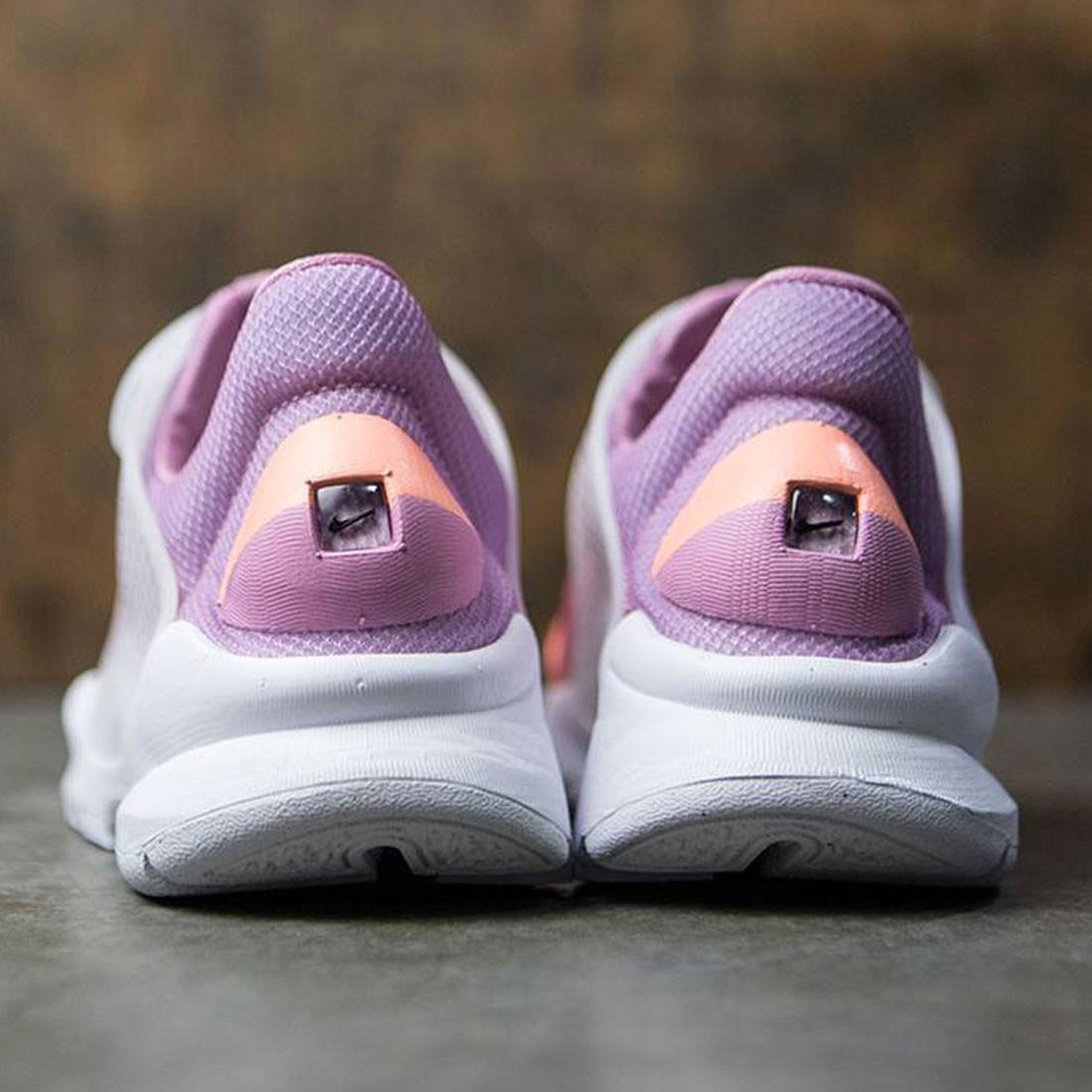 size 40 6cdac d32d4 Nike Women Sock Dart Br (sunset glow   white-orchid-glacier blue)