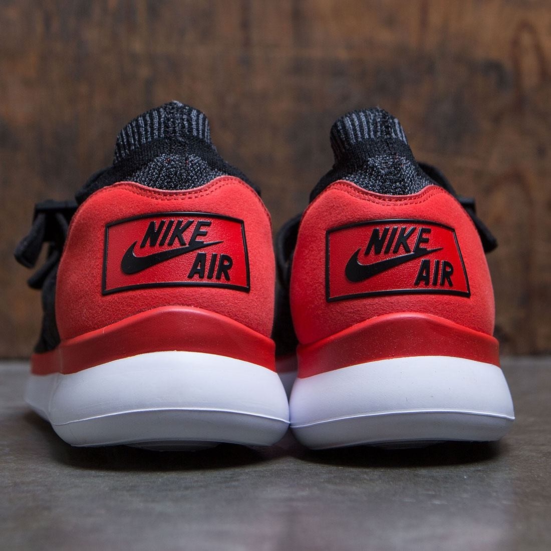 640f18f1fa56 Nike Men Air Sock Racer Ultra Flyknit (chile red   black-dark grey-white)