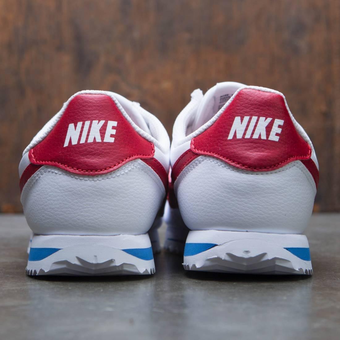 b3ed1f4fba Nike Big Kids Cortez Basic Sl (white / varsity red-varsity royal-black)