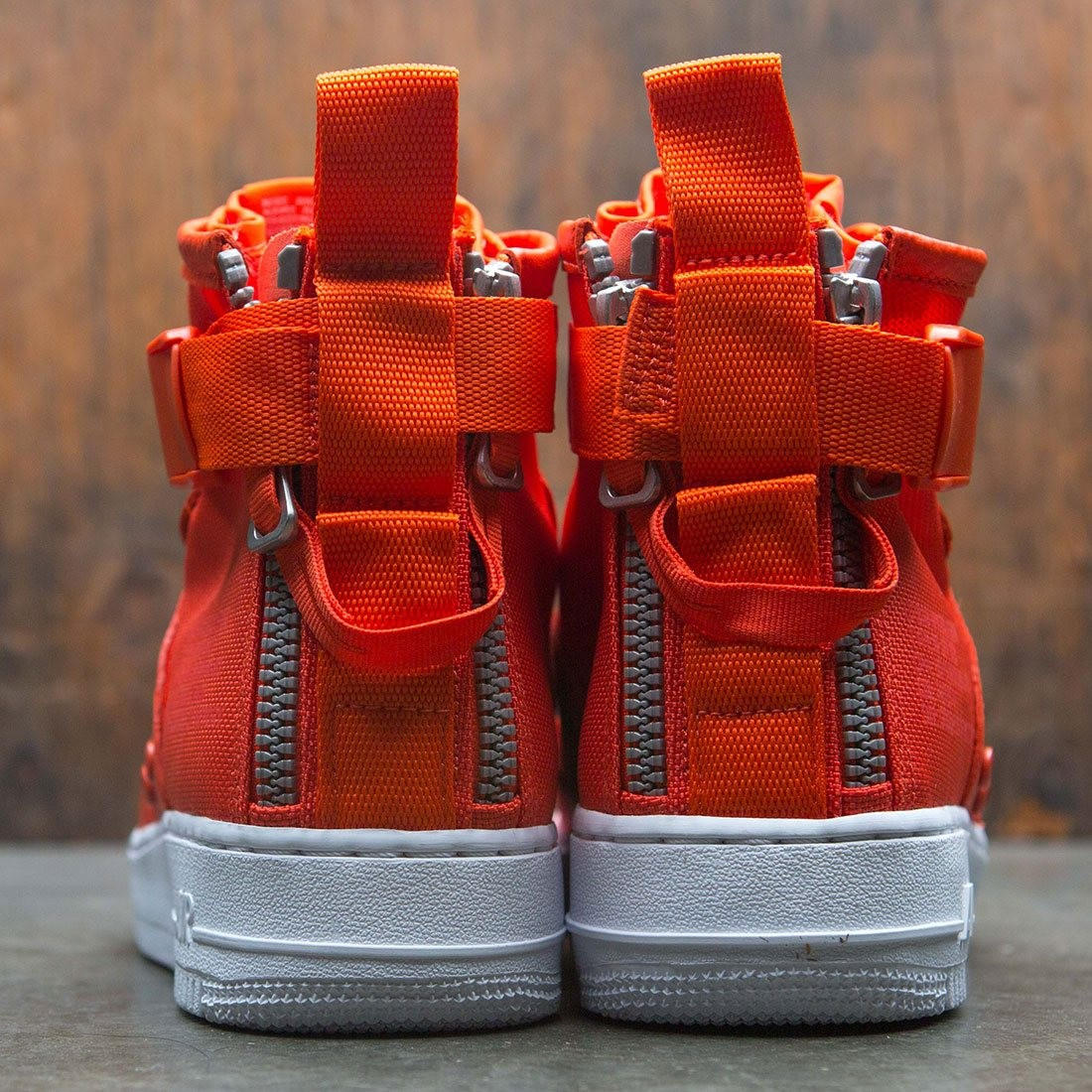7f350de8 Nike Men Sf Air Force 1 Mid (team orange / team orange-team orange)