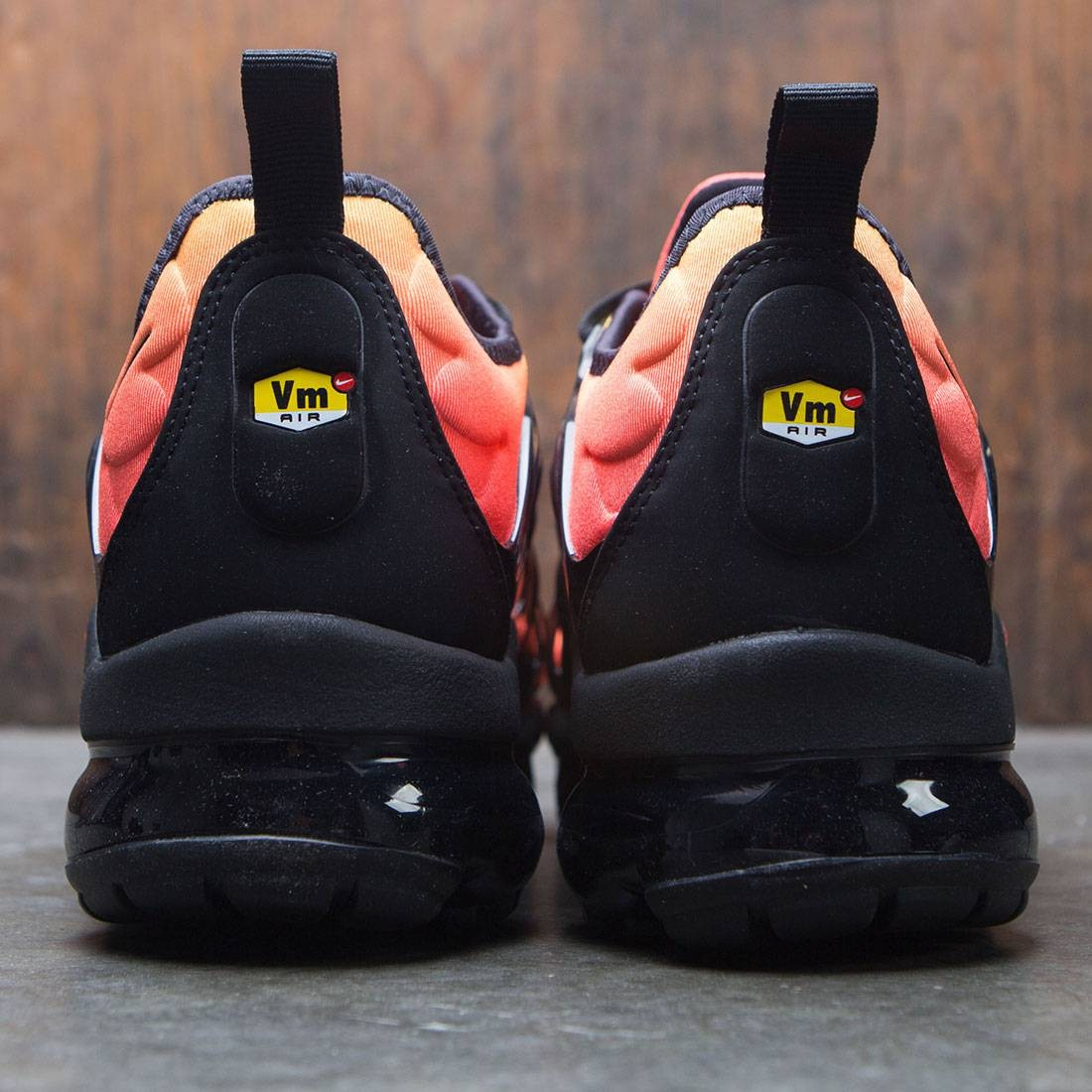 6c53dc89cffeb Nike Men Air Vapormax Plus (black   black-total orange-total crimson)