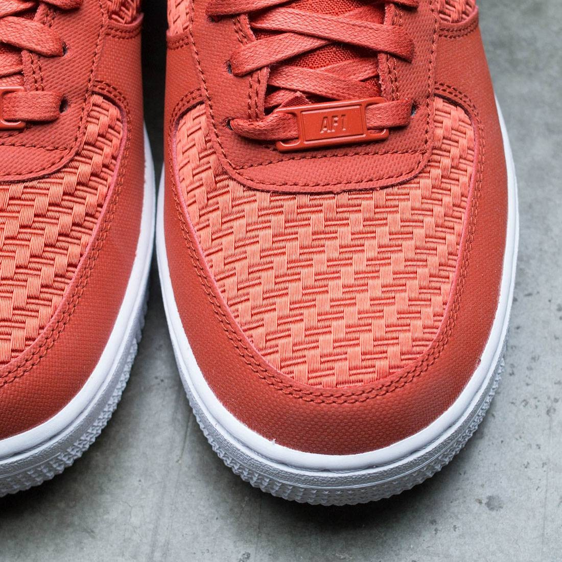 low priced a9252 0c8a6 Nike Women Air Force 1  07 Pinnacle (red   dragon red-white)