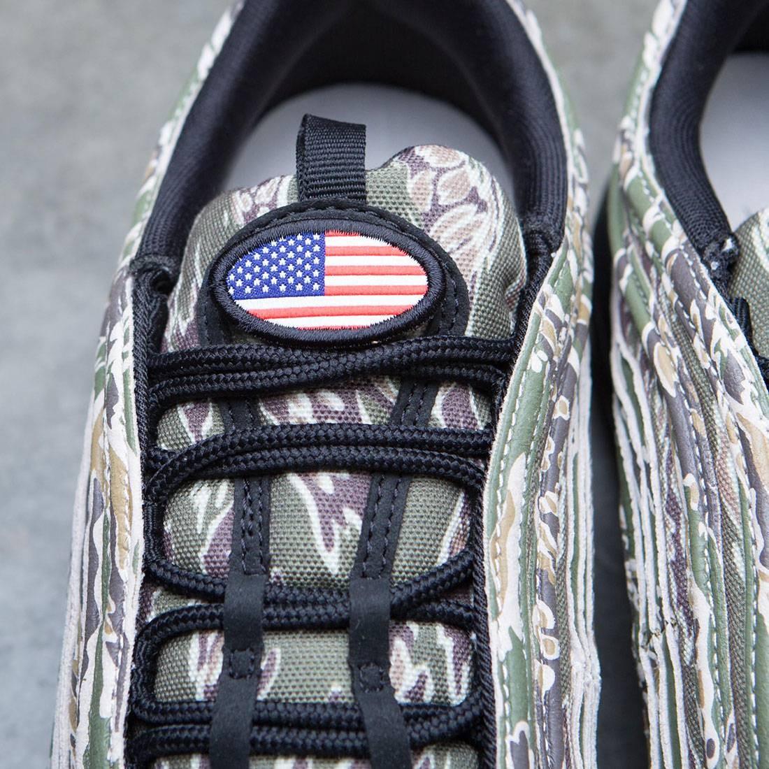 d326e31578c Nike Men Air Max 97 Premium Camo Pack (medium olive   black-desert sand -ridgerock)