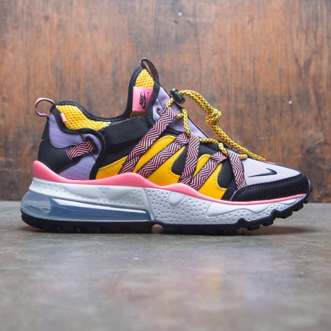 best website 4b7ee 1047b Nike Men Air Max 270 Bowfin (black / black-atomic violet-amarillo)