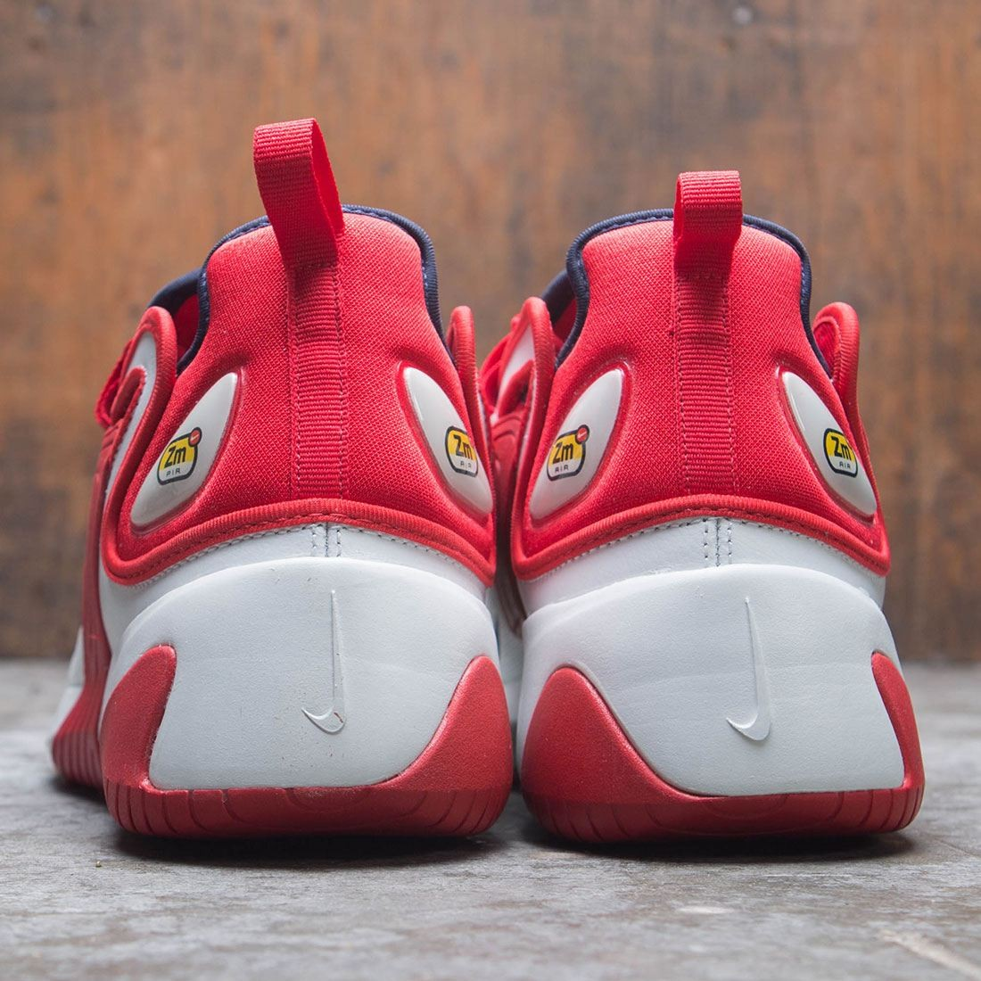 the best attitude fc902 6a12b Nike Men Zoom 2K (off white   obsidian-university red)