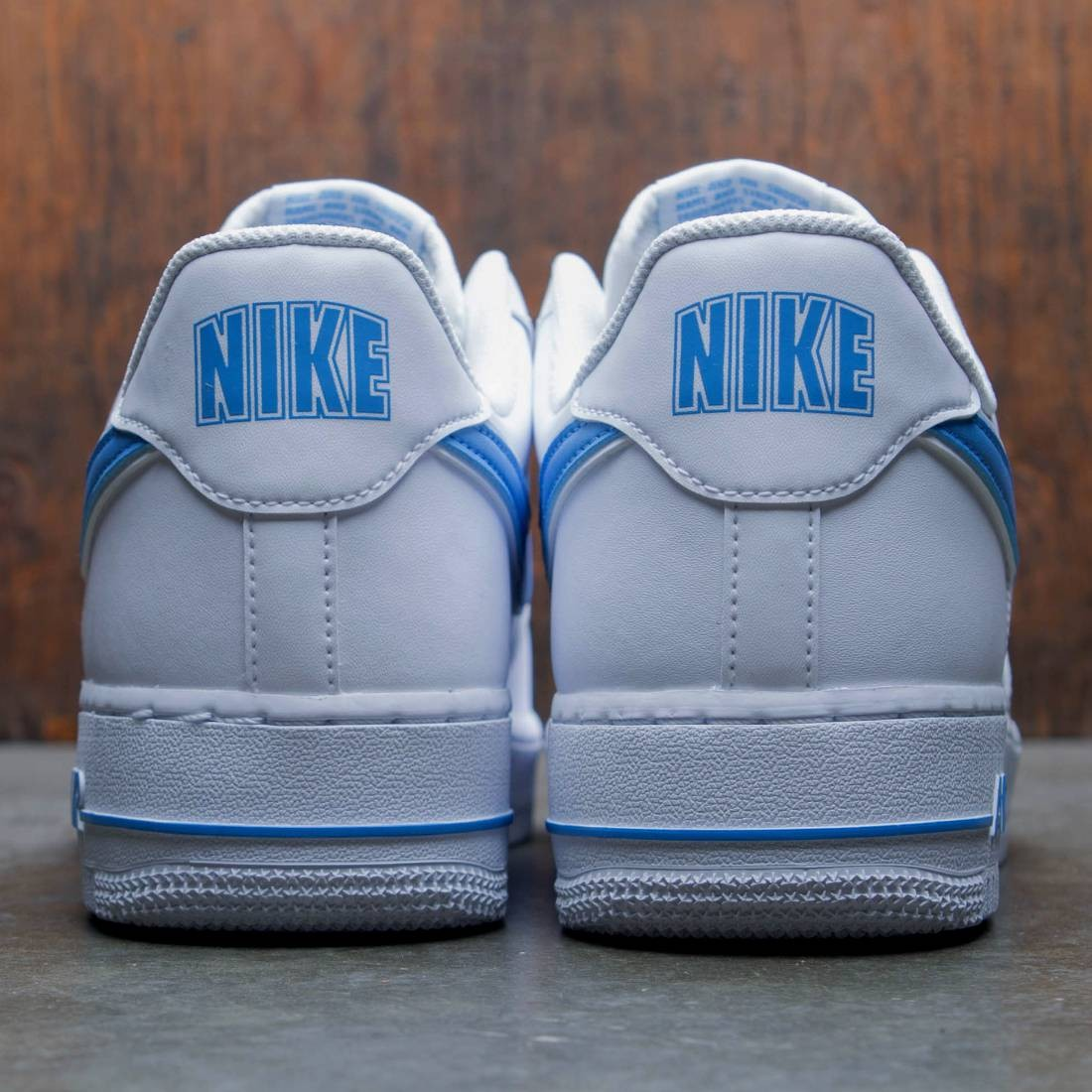 best service 25ffb 578c8 Nike Men Air Force 1  07 3 (white   university blue)