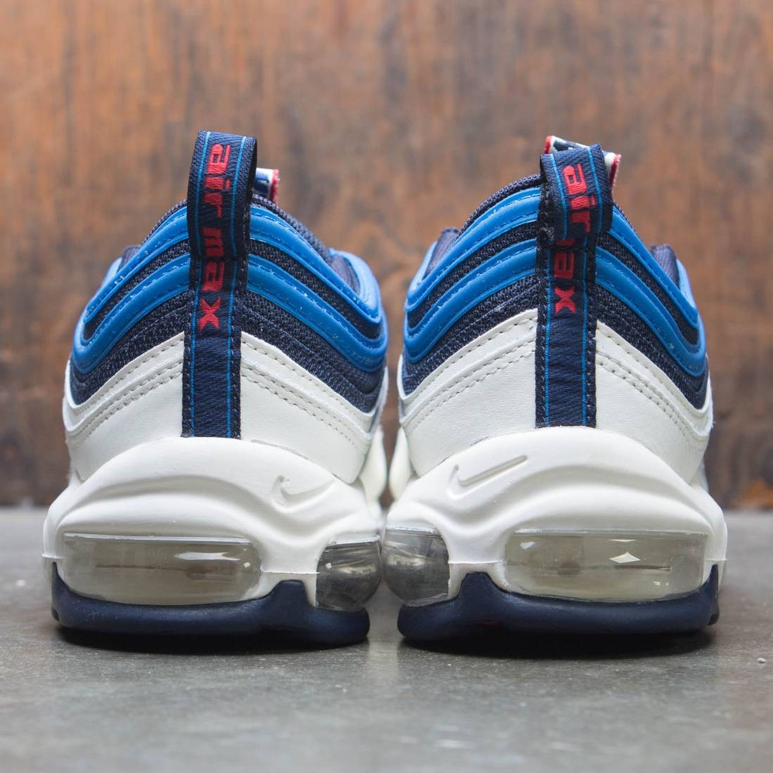 92e6d97298 Nike Men Air Max 97 Se (obsidian / university red-sail-blue nebula)