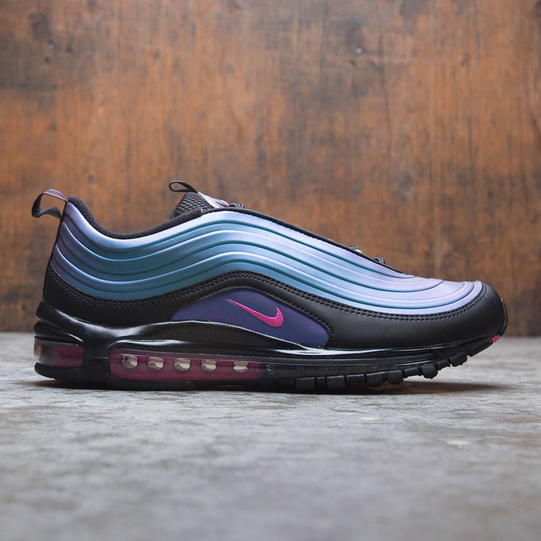 Nike Air Max 97 LX BlackLaser Fuchsia Thunder Grey