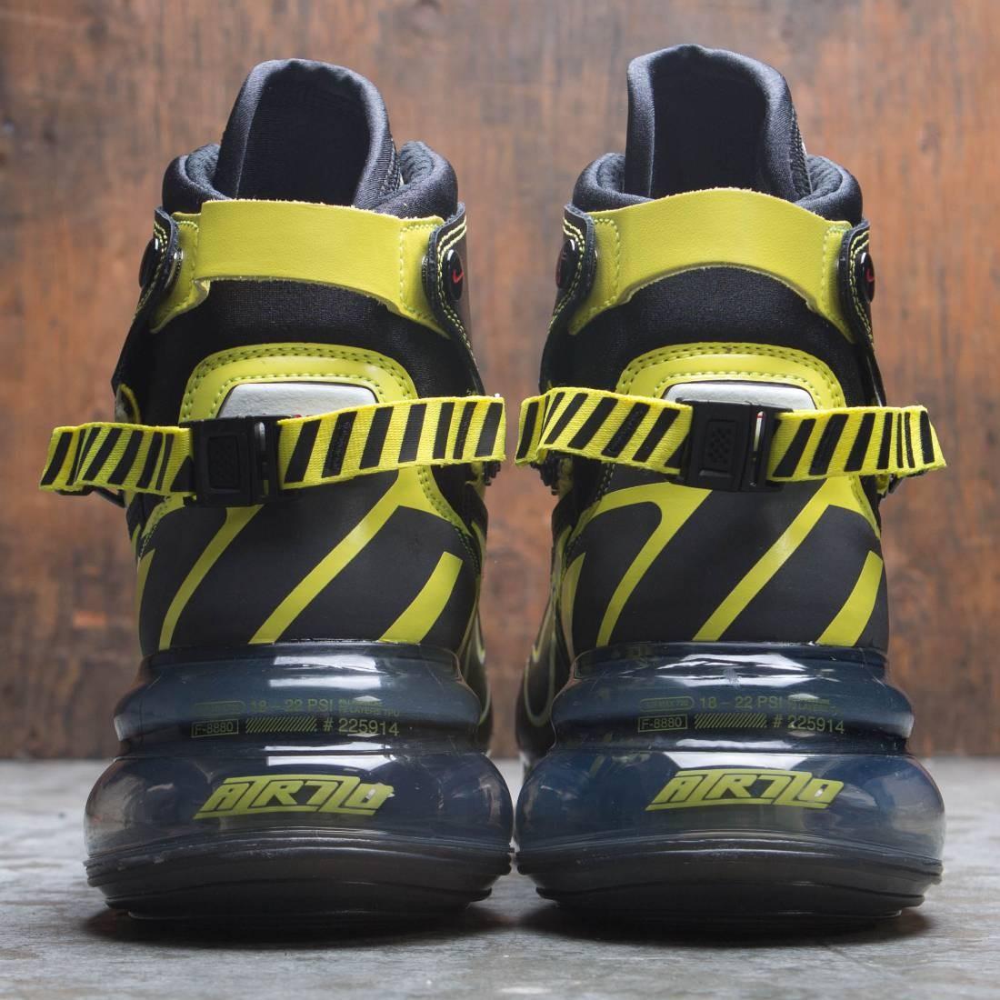 timeless design 873bc 95519 Nike Men Air Max 720 Satrn Qs (black   dynamic yellow-university red)