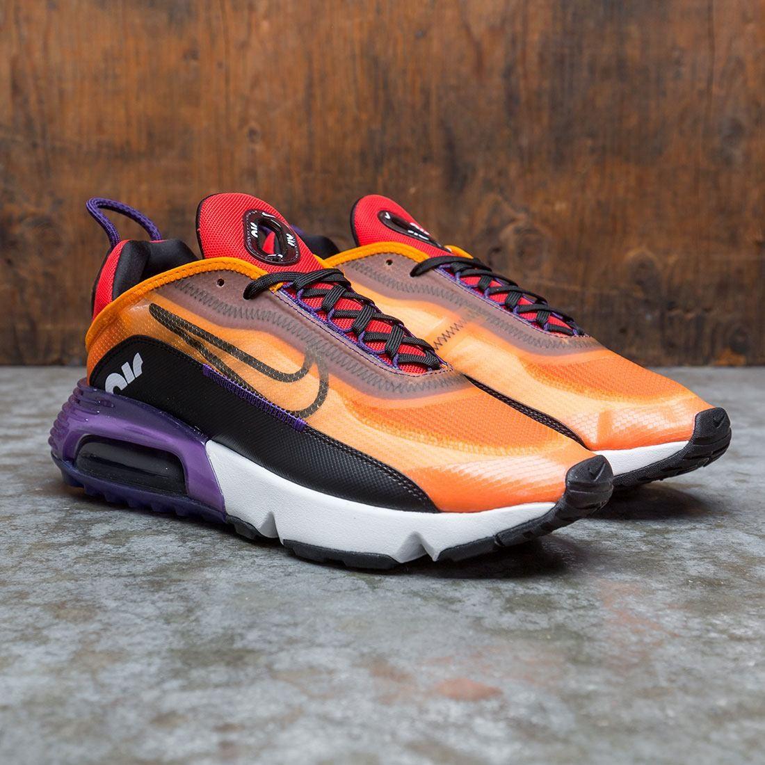 Nike Men Air Max 2090 (magma orange / black-eggplant-habanero red)