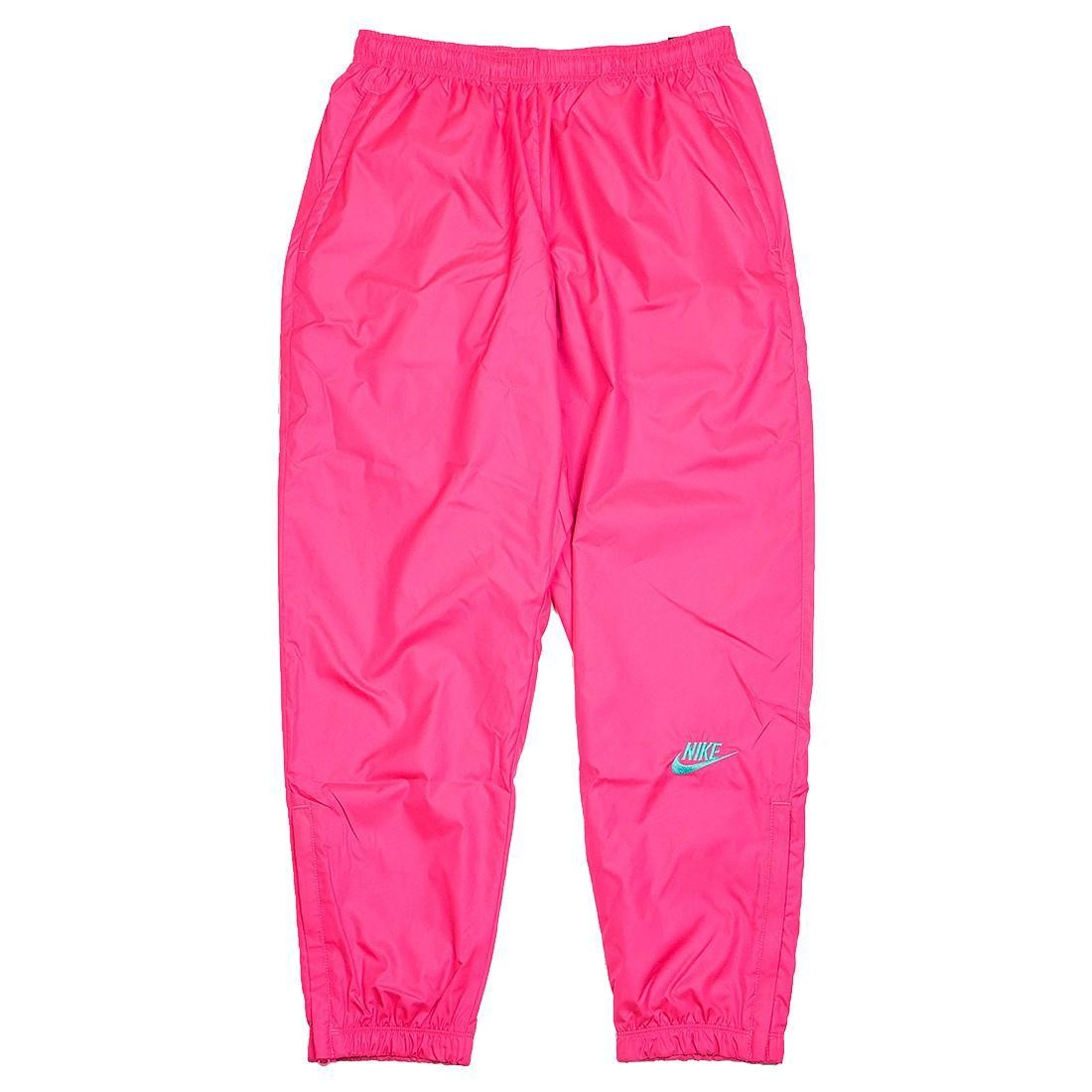 lace up in most popular excellent quality Nike x Atmos Men Nrg Vintage Patchwork Track Pants (hyper pink / hyper jade)