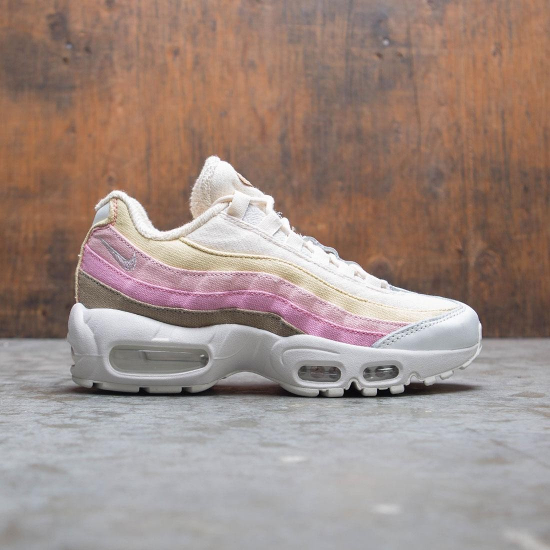 affordable price lower price with various colors Nike Women Air Max 95 Qs (lemon wash / plum chalk-plum dust)