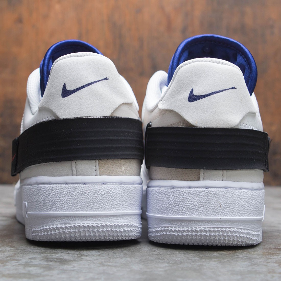 new product 05f67 f47d8 Nike Men Air Force 1 Type (summit white   red orbit-white-black)