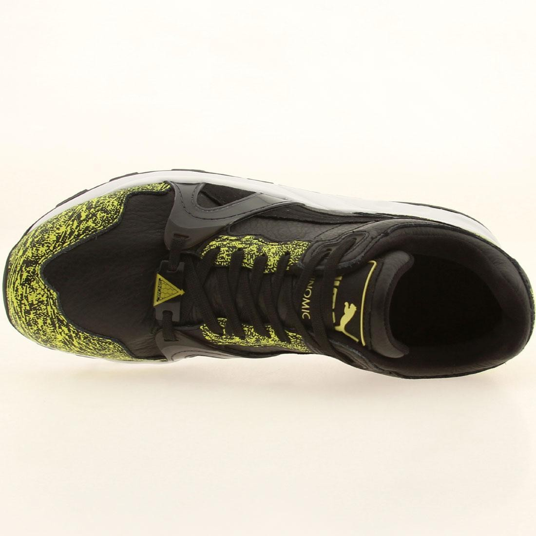 the best attitude 4aed5 4a8fa Puma Men Trinomic XT2 Plus - Snow Splatter Pack (black   white   fluro  yellow)