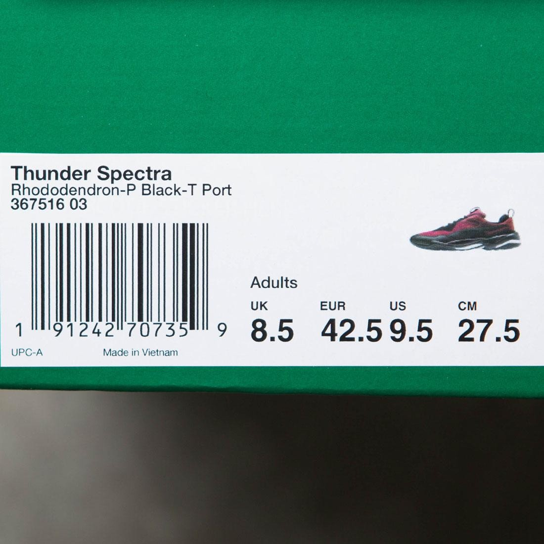 19aa8dd2608 Puma Men Thunder Spectra (red   burgundy   tawny)