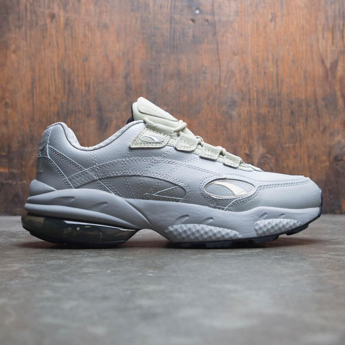 Puma Cell Venom Front Dupla Mens Gray Leather Low Top Sneakers Shoes