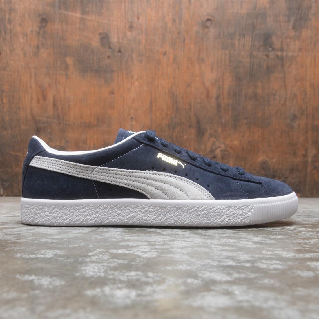 Puma Men Suede VTG Vintage (blue / peacoat / white)