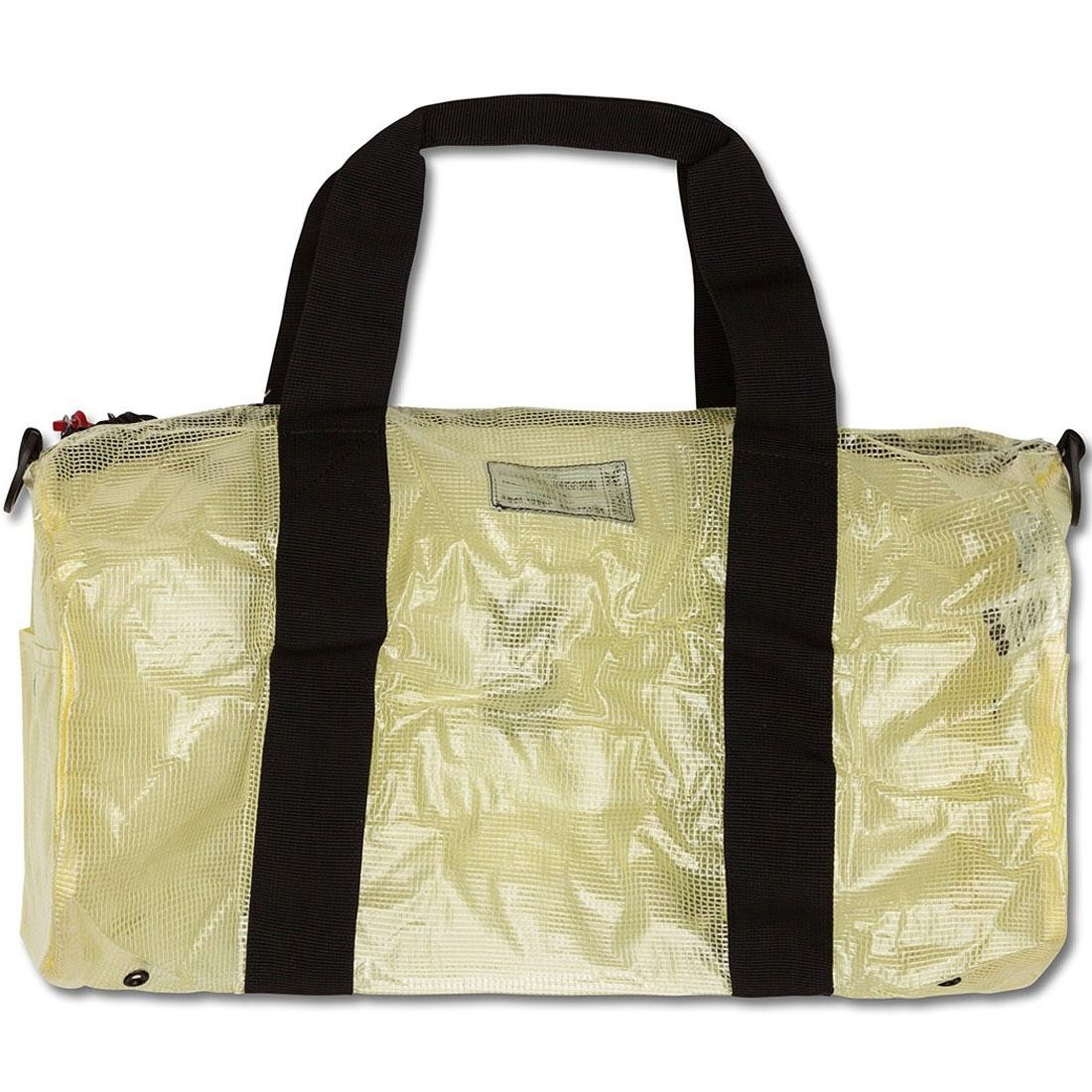 5b1fe6ab1b86 Stussy x Herschel Supply Co Duffle Bag - Clear Tarp Collab white clear