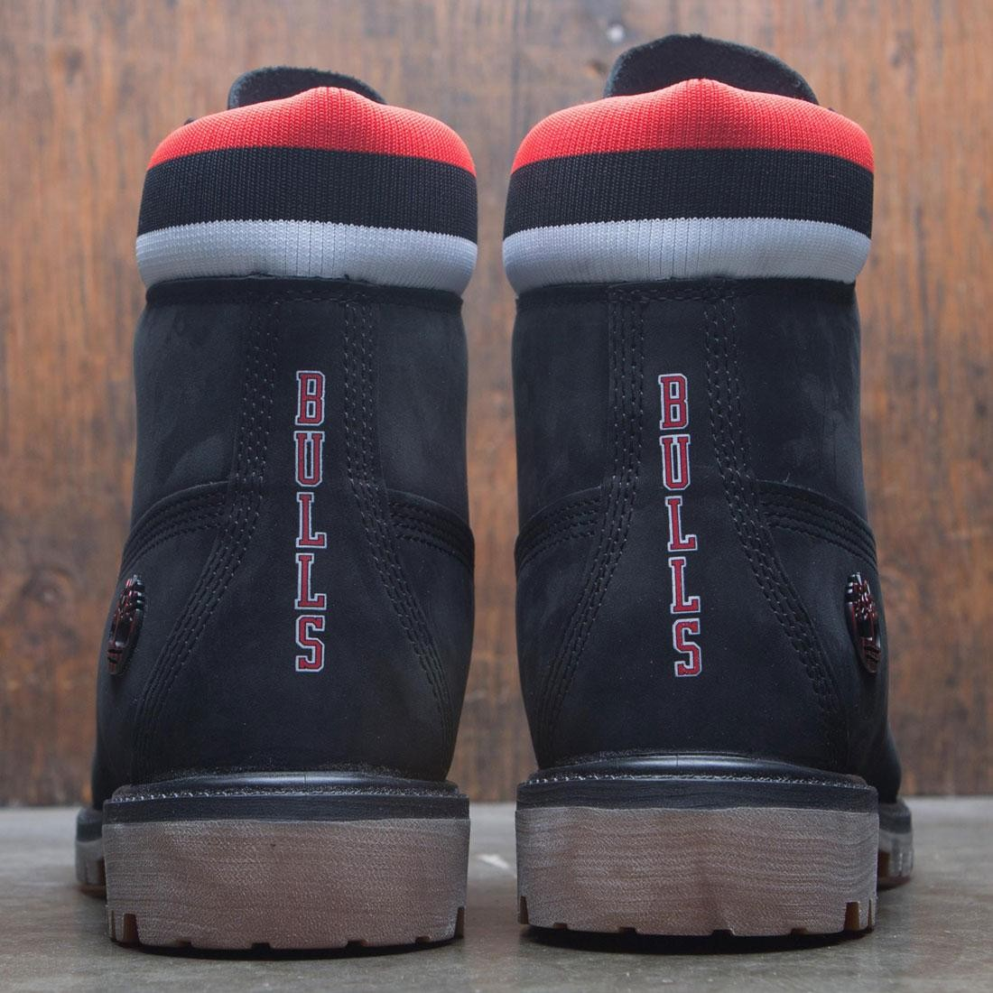 8607dfbe903a Timberland X Mitchell And Ness Nba Men 6 Inch Boot Chicago Bulls Black