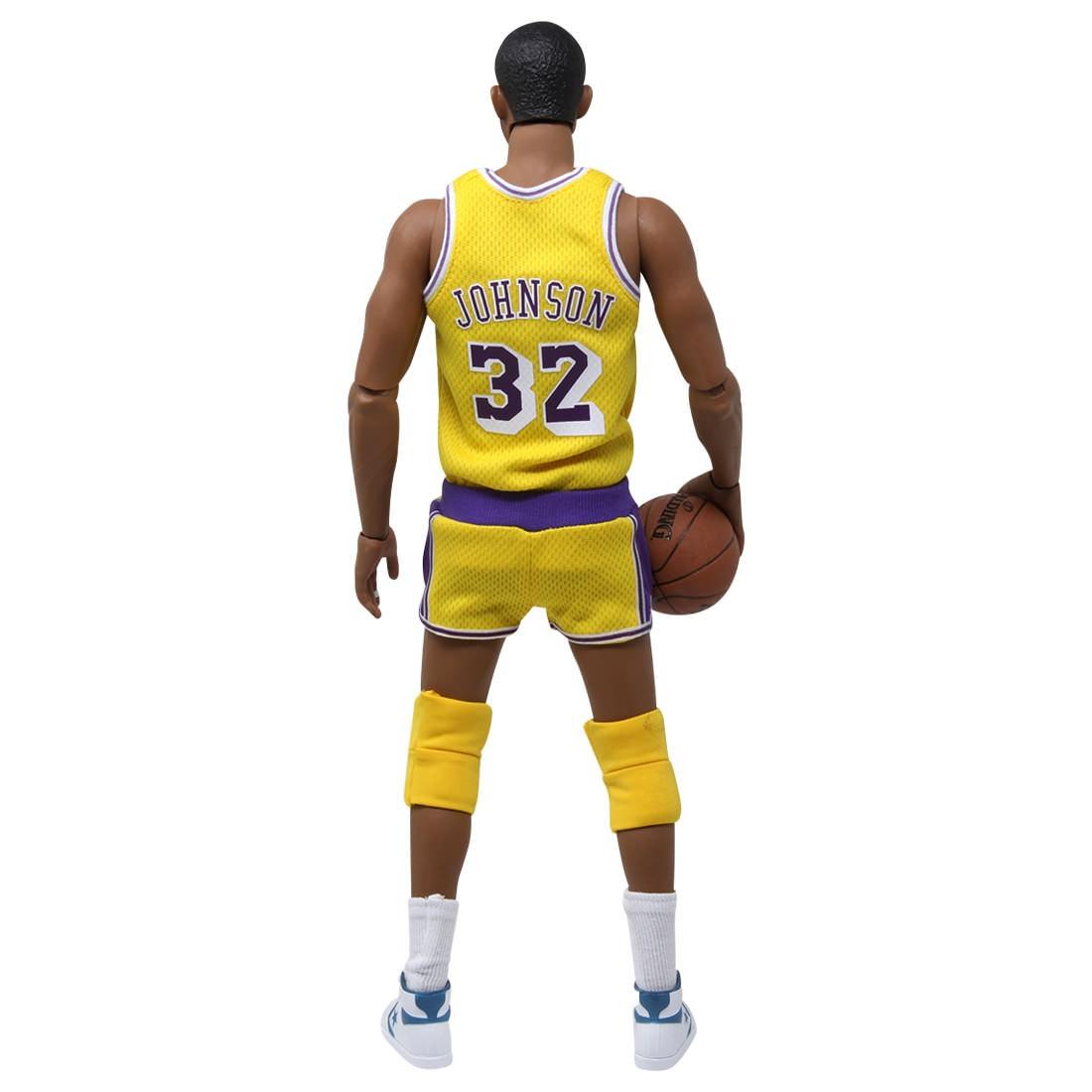 1//6 Scale Toy Magic Johnson Peg Type Yellow White /& Blue Basketball Sneaker
