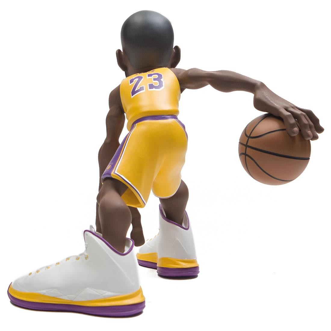 newest 1fc43 30d1f IconAI Small Stars NBA 2018-2019 Lebron James 11 Inch Figure - Lakers Gold  Jersey (gold)