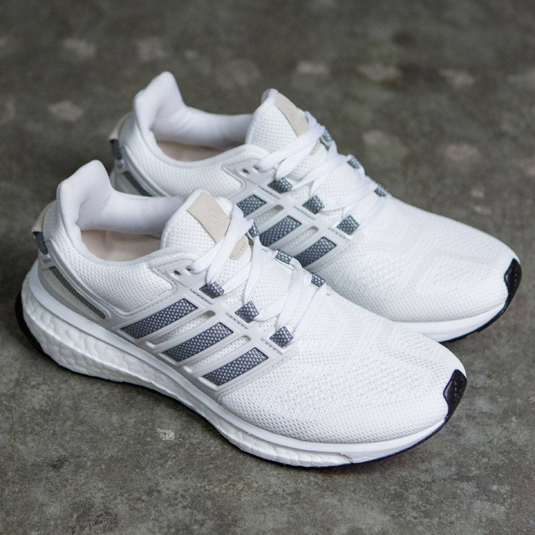 timeless design c9814 e038d Adidas Women Energy Boost 3 (white  charcoal solid grey  crystal white)
