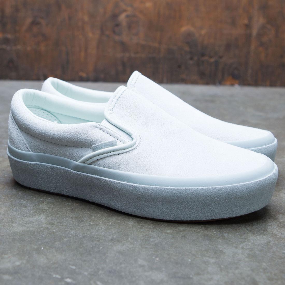 Vans Women Classic Slip-On Suede blue