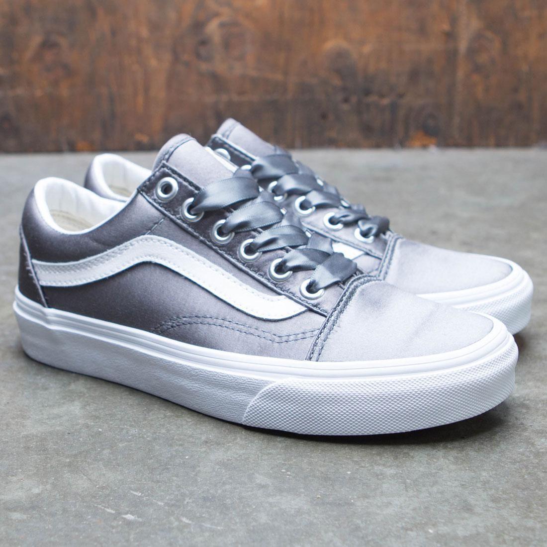 Vans Women Old Skool Satin Lux gray