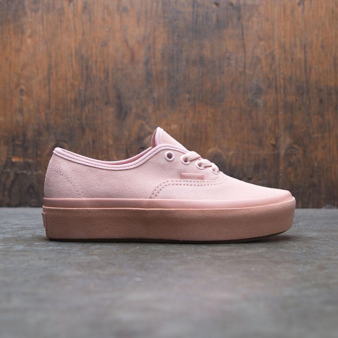 6e007c04a7 Vans Women Authentic Platform 2.0 (pink)