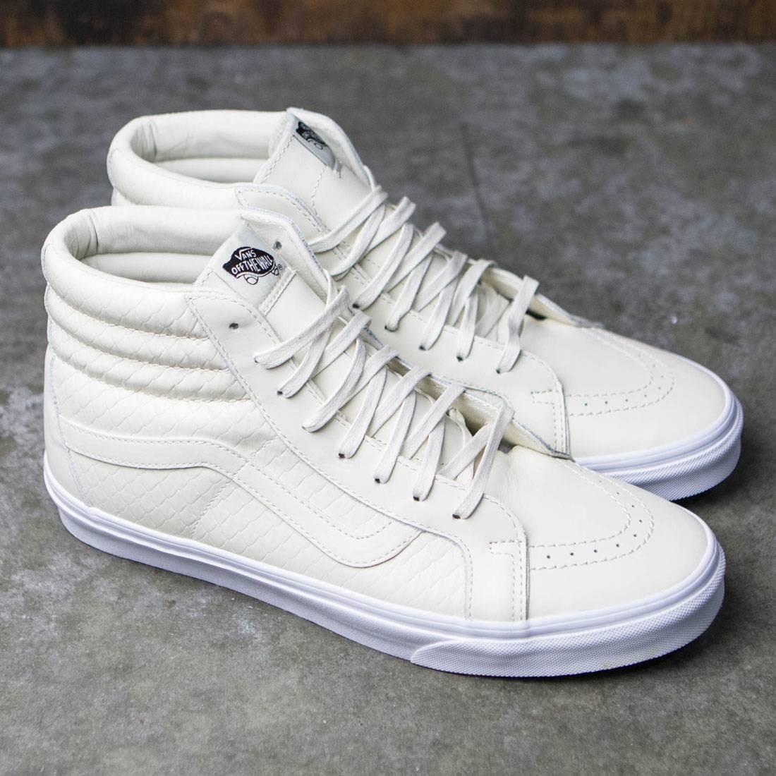 22d7aecedeb Vans Men Sk8-Hi Reissue DX - Armor Leather (white / turtledove)